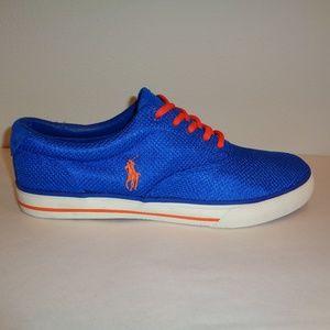 Polo Ralph Lauren VAUGHN Blue Sneakers
